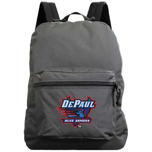 "CLDPL710-GRAY: 16"" Made in USA Premium Backpack"